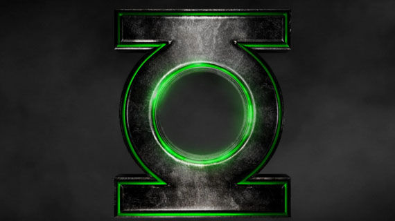 Green Lantern official website logo Early Look At Parallax In Green Lantern