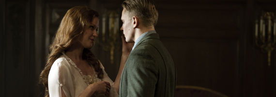 Gretchen Mol and Billy Magnussen in Boardwalk Empire Sunday Best Boardwalk Empire Season 3, Episode 7: Sunday Best