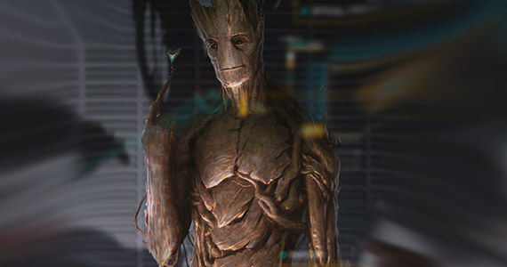 Groot Concept Art Comic Con 2013 Guardians of the Galaxy Groot Concept Art Comic Con 2013 Guardians of the Galaxy