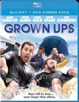 Grown Ups DVD Blu ray box art DVD/Blu ray Breakdown: November 9, 2010