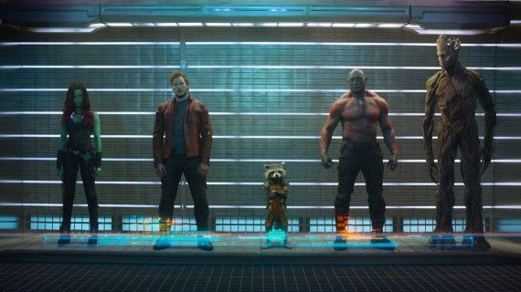 Guardians of the Galaxy First Official Photo HIGH RES 570x320 Guardians of the Galaxy Sequel Coming in 2016?