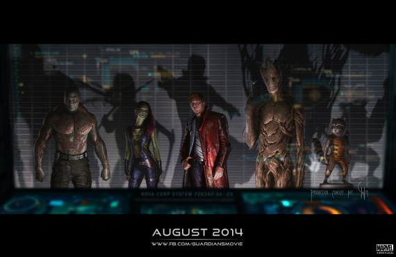 Guardians of the Galaxy Movie Production Art 570x370 Marvel Studios Has Movies Planned Through to 2021