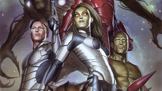 Guardians of the Galaxy Quill Gamora Drax Marvel Movie Interview Roundup: Guardians of the Galaxy and Ant Man