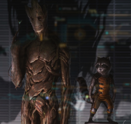Guardians of the Galaxy Rocket Raccoon Groot Actor