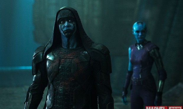 Guardians of the Galaxy Ronan and Nebula 620x370 Guardians of the Galaxy Villains Are On A Holy Mission
