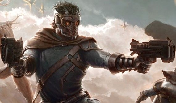 Guardians of the Galaxy Star Lord 570x333 Chris Pratt Will Lead Marvels Guardians of the Galaxy