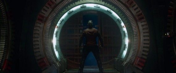 Guardians of the Galaxy Star Lord ready for battle 570x237 Guardians of the Galaxy   Star Lord ready for battle