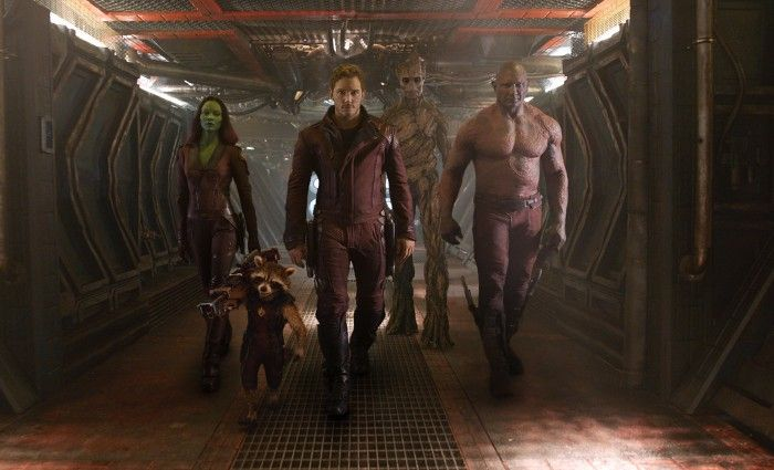 Guardians of the Galaxy Team Photo High Res 700x425 The First Guardians of the Galaxy Poster is Awesome [Updated]