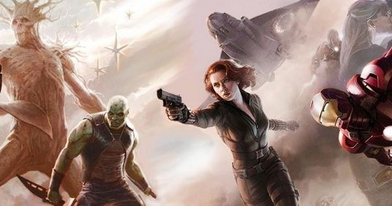 Guardians of the Galaxy in Avengers 2 No Avengers in Guardians of the Galaxy; Captain America 2 Has Major Phase 2 Role