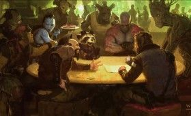 Guardians of the Galaxy movie cantina art 280x170 Awesome Captain America 2 & Guardians of the Galaxy Production Art