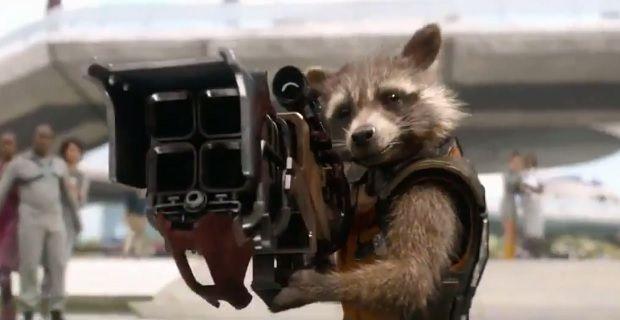 Guardians of the galaxy tv trailer that s a big gun