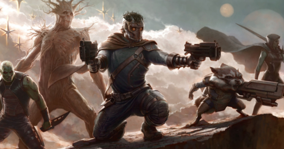 Guardians of the galaxy concept art Benicio Del Toro Talks The Collector in Guardians of the Galaxy