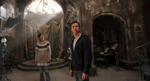 Guy Pearce and Katie Holme in Dont Be Afraid of the Dark Summer 2011 Movies: The Best, The Worst, & Some Surprises
