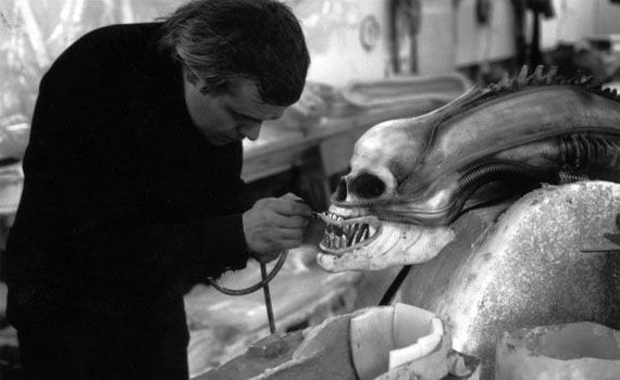 HR Giger working on original Alien H.R. Giger Returning to Work on Alien Prequel