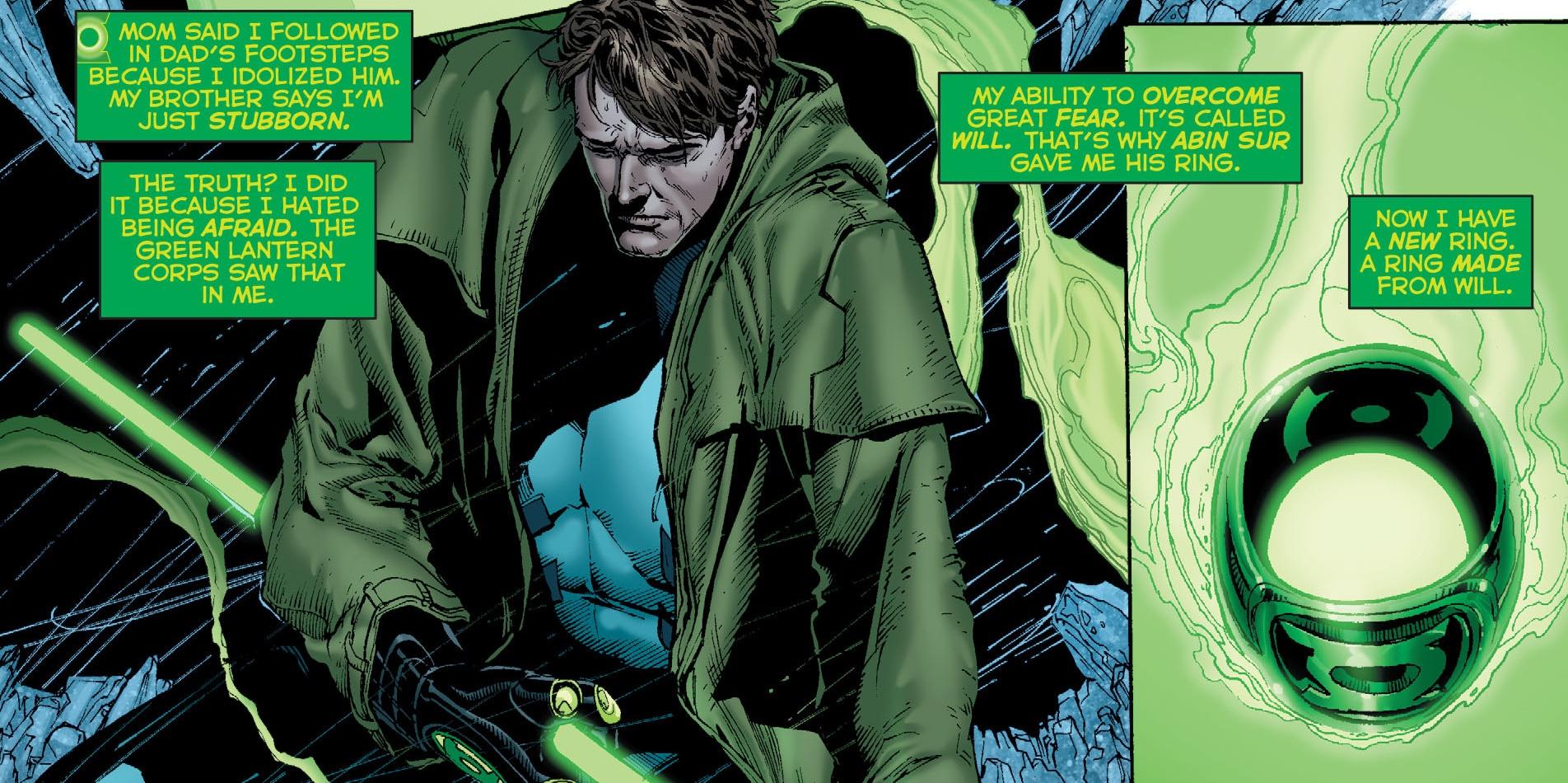 Green Lantern Phantom Ring Suit