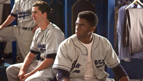 Hamish Linklater Chadwick Boseman 42 42 Review