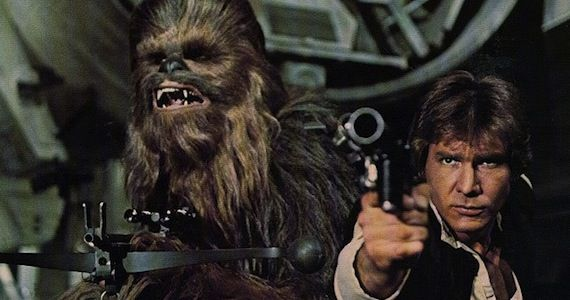 Han Solo Harrison Ford Star Wars 7 Indy 5 in Development to Secure Harrison Ford for Star Wars: Episode 7?