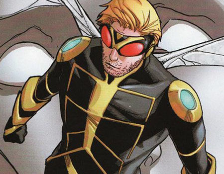 Hank Pym as Wasp