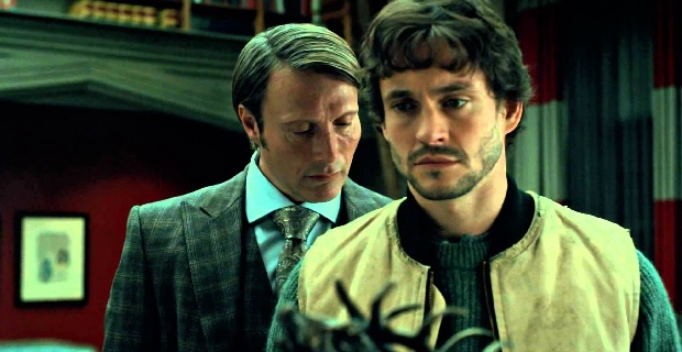 Hannibal sniffs Will Hannibal Season 3: Bryan Fuller Teases New Characters & Season 2 Aftermath