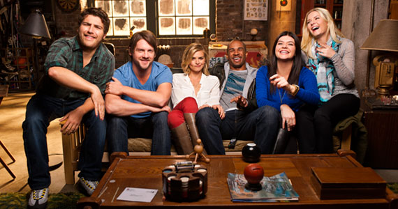 Happy Endings Cast Photosh TV News Wrap Up: Feb 23 2013   Bad Teacher, Happy Endings & More