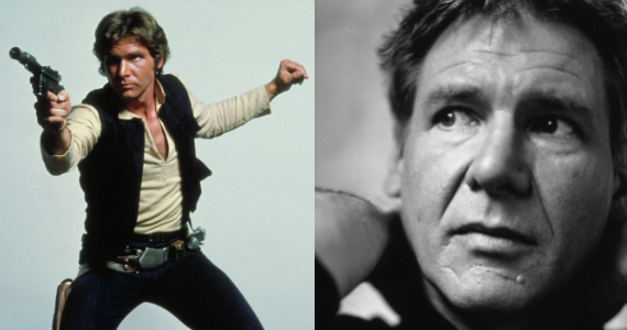 Harrison Ford Han Solo Star Wars Episode 7 Harrison Ford Says Hes Undecided on Appearing in Star Wars: Episode 7