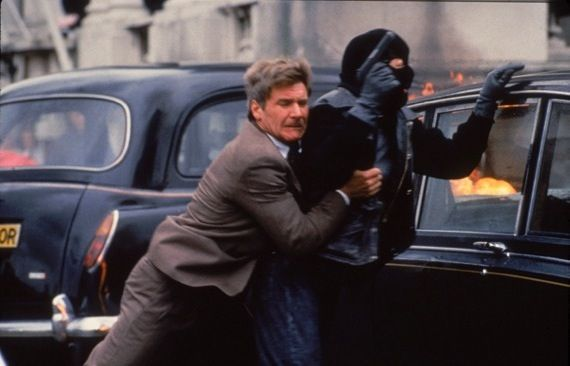 Harrison Ford as Jack Ryan in Patriot Games Phillip Noyce Looking To Direct Hunter Killer