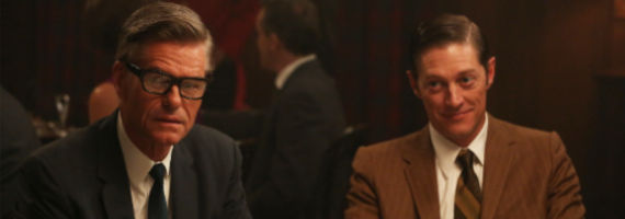 Harry Hamlin and Kevin Rahm in Mad Men Favors Mad Men Season 6, Episode 11 Review – Like a Rat in a Trap
