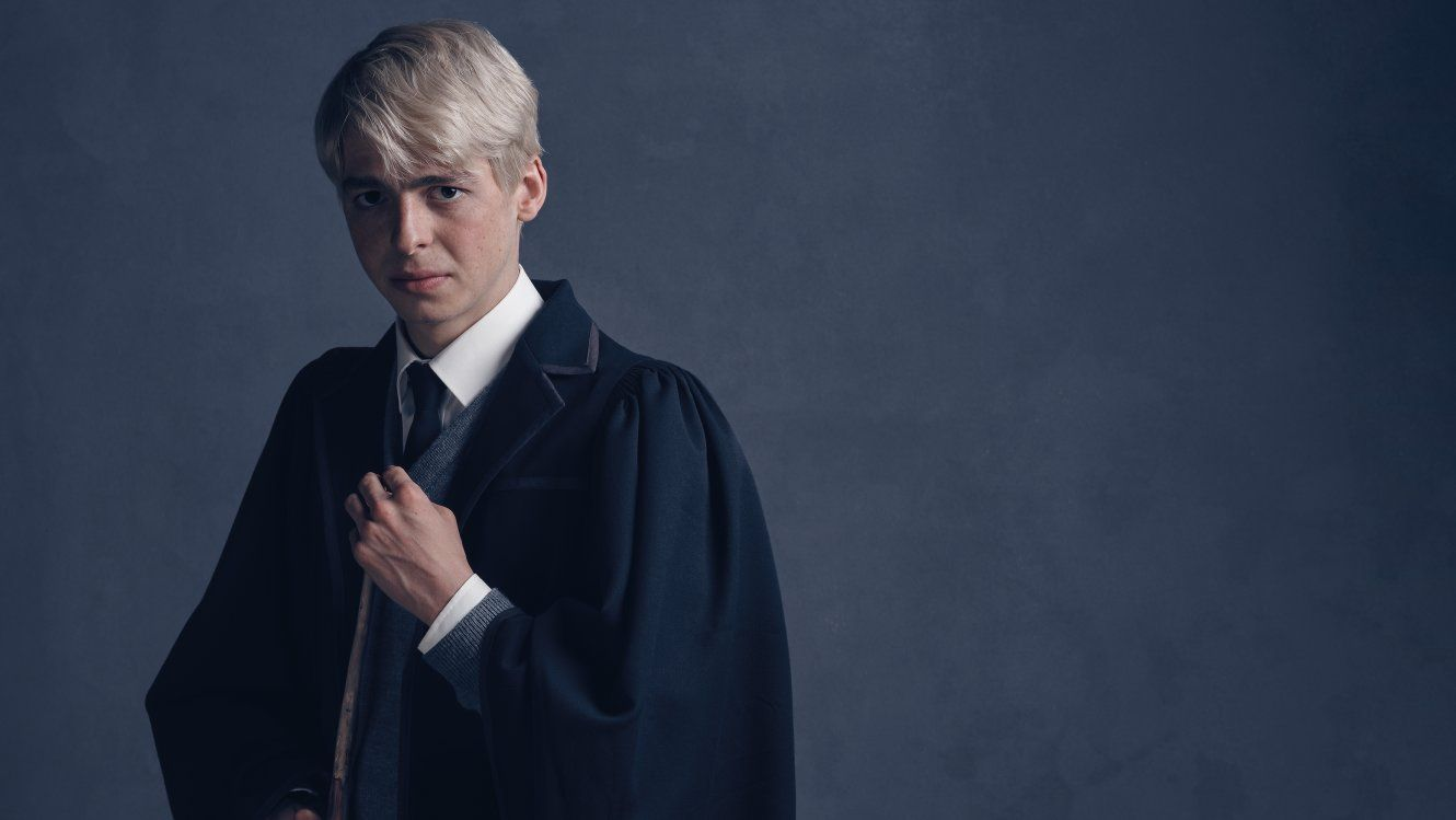 Harry Potter & The Cursed Child Images: Draco and Scorpius Malfoy