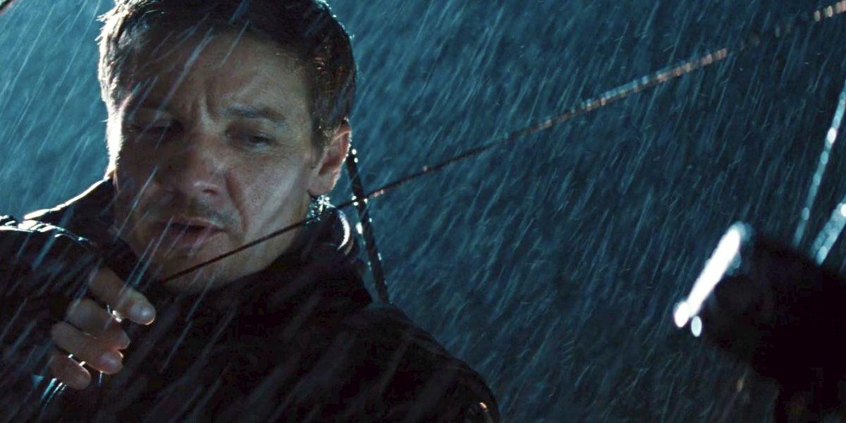 Hawkeye in Thor Cameo