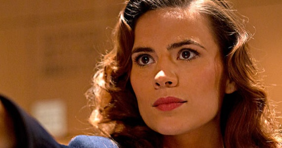 Hayley Atwell in Agent Carter Marvels Agent Carter Clip: Peggy Carter Leaps Into Action