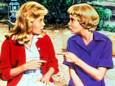 Hayley Mills The Parent Trap 1961 twins Our 8 Favorite Movie Twins & One Pair We Hate