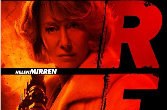 Helen Mirren RED Poster Helen Mirren Redefines Retirement In New 'Red' Clip