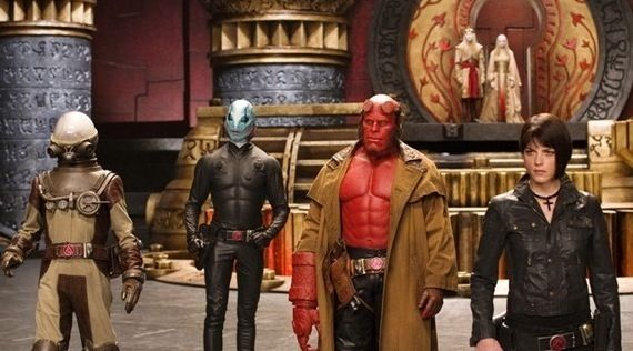 Hellboy movie pic Guillermo del Toro Talks Hellboy 3
