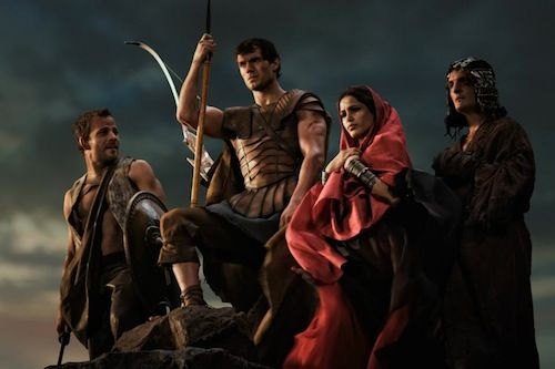 Henry Cavill Freida Pinto Immortals Immortals Review