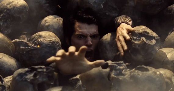 Henry Cavill as Superman in Man of Steel1 Henry Cavill May Replace Tom Cruise in The Man from U.N.C.L.E.