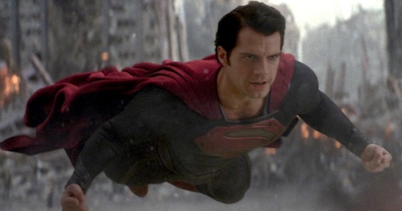 Henry Cavill as Superman Man of Steel 2 Fast Tracked with Zack Snyder & David S. Goyer Attached