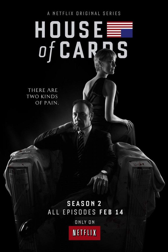 House Of Cards S2 Poster 682x1024 House of Cards Season 2 Trailer #3: Hunt Or Be Hunted
