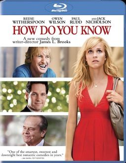 How Do You Know DVD Blu ray box art DVD/Blu ray Breakdown: March 22nd, 2011