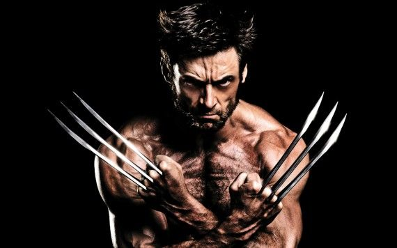 Hugh Jackman Muscles Claws in The Wolverine 570x356 Hugh Jackman Teases Wolverine 3 Ideas But Isnt Contracted Yet