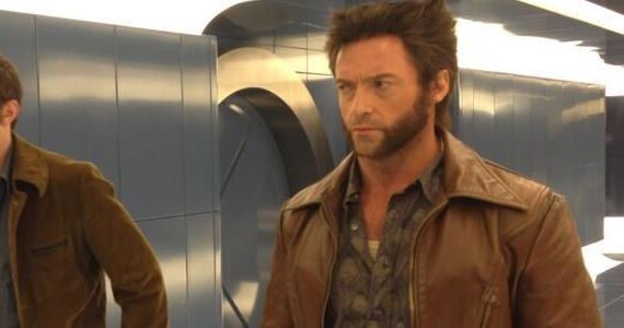 Hugh Jackman as Wolverine in X Men Days of Future Past X Men: Days of Future Past Set Photos Reveal Peter Dinklage in Costume