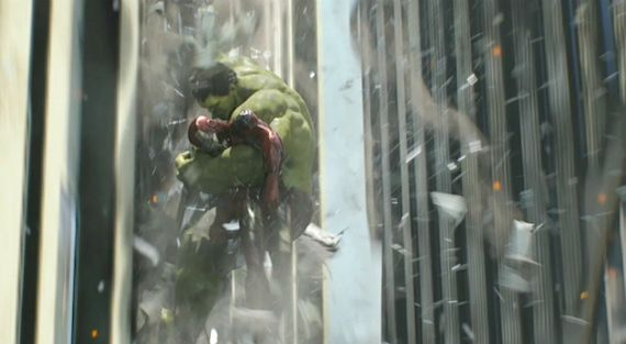 Hulk Catching Iron Man in The Avengers Third Hulk Movie Coming in 2015?