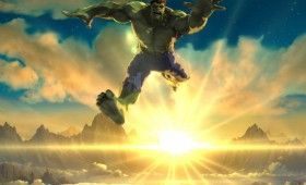 Hulk Jump in Iron Man Hulk Heroes United 2013 280x170 'Iron Man & Hulk: Heroes United' Images and Clip: Hulk Gets His Own Armor