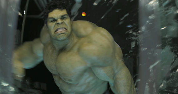 Hulk in The Avengers TV spots Avengers Interviews: Superhero Politics, Smart Hulk & Marvel Movie Future