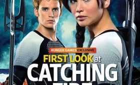 Hunger Games Catching Fire Movie Image Katniss Finnick 280x170 Hunger Games: Catching Fire Images: Katniss, Finnick, Gale, Peeta, Haymitch & More [Re Updated]