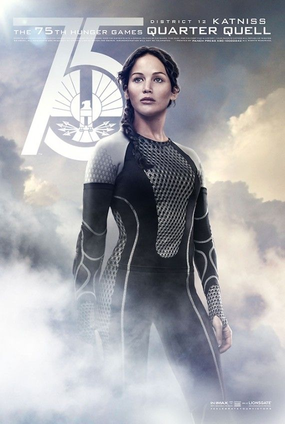 Hunger Games Catching Fire Quarter Quell Posters Katniss 570x848 Hunger Games Catching Fire Quarter Quell Posters   Katniss