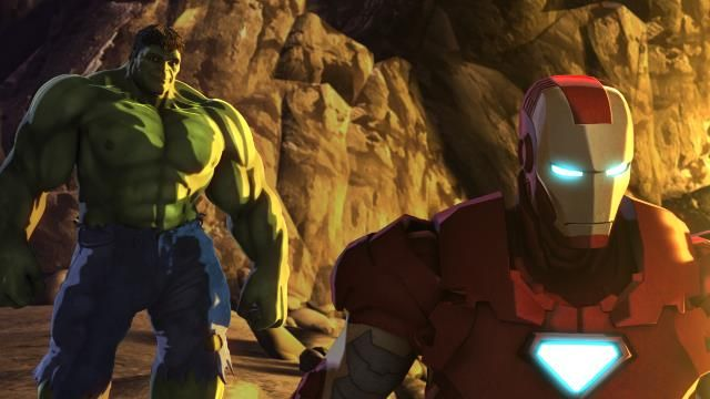 IH 'Iron Man & Hulk: Heroes United' Images and Clip: Hulk Gets His Own Armor