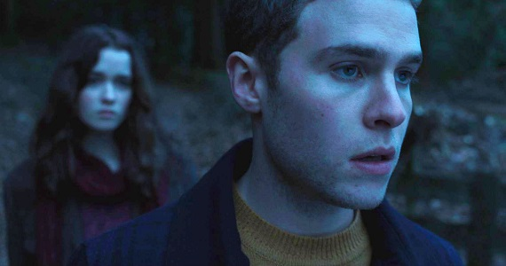 Iain De Caestecker and Alice Englert in In Fear In Fear Trailer: Dont Go Down to the Woods Today