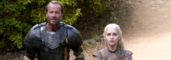 Iain Glen Emilia Clarke Game of Thrones Valar Morghulis  Game of Thrones Season 2 Finale Review