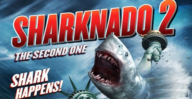 Ian Ziering Tara Reid Return Sharknado 2 Movie News Wrap Up: Sharknado 2, Taken 3, Hot Tub Time Machine 2 & More