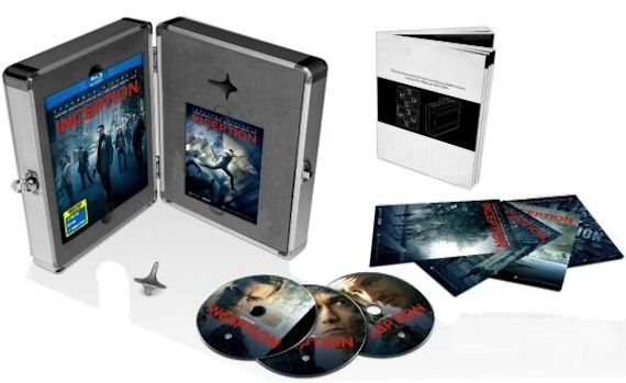 Inception Limited Edition Briefcase Blu ray Inception DVD/Blu ray Details Revealed